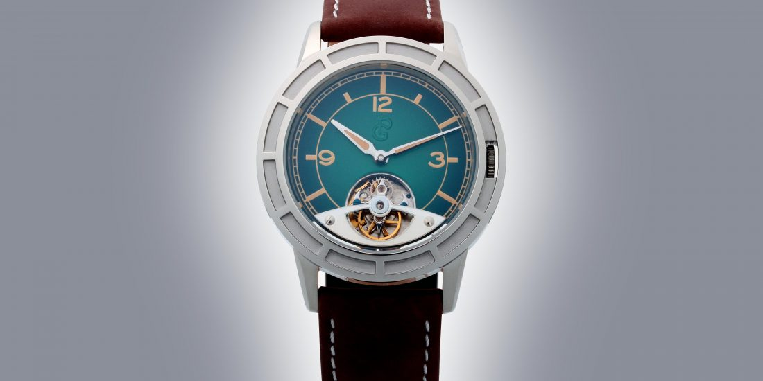 PIERRE GASTON TOURBILLON WATCH #PGT.57.772