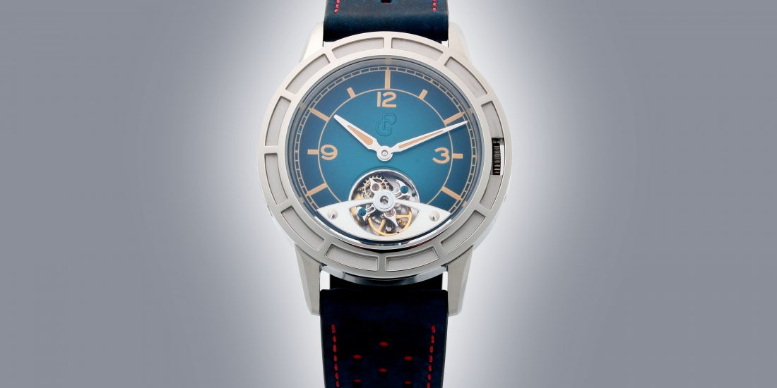 PIERRE GASTON TOURBILLON WATCH #PGT.57.782