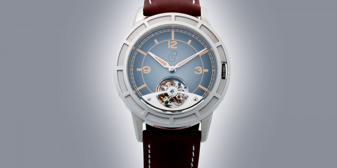 PIERRE GASTON TOURBILLON WATCH #PGT.57.792