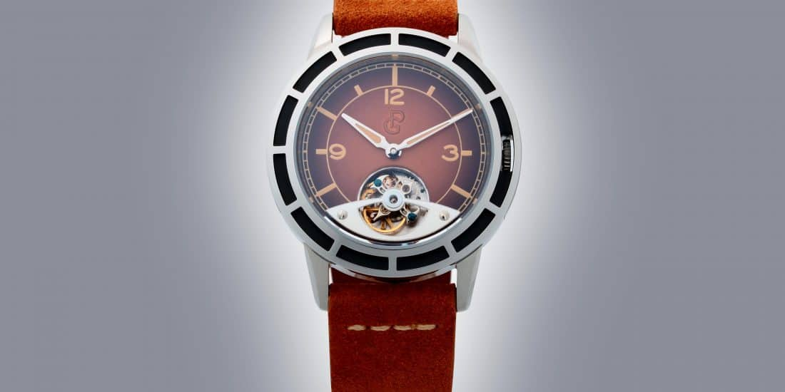 PIERRE GASTON TOURBILLON WATCH #PGT.58.742